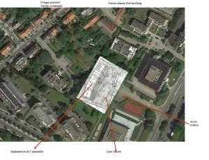 Bosquet montage maquette vue Google